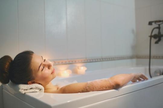 sommeil un bain chaud 1h30 avant d