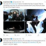 Quatre touristes dans l'espace à bord d'un vaisseau SpaceX