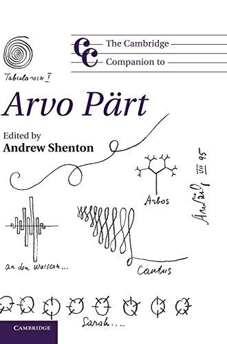 The Cambridge Companion to Arvo Pärt - Edited by Andrew Shenton