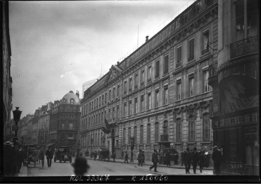 Banque de France - rue Croix-des-Petits-Champs - 1913