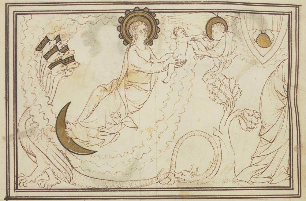 Gloses sur l'Apocalypse - XIIIème siècle - Gallica/BNF