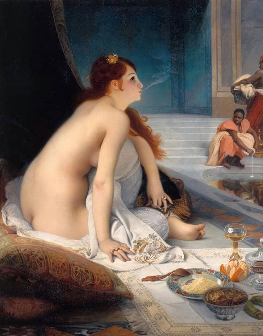 Jean Jules Antoine Lecomte Du Nouy -L'esclave blanche 1888