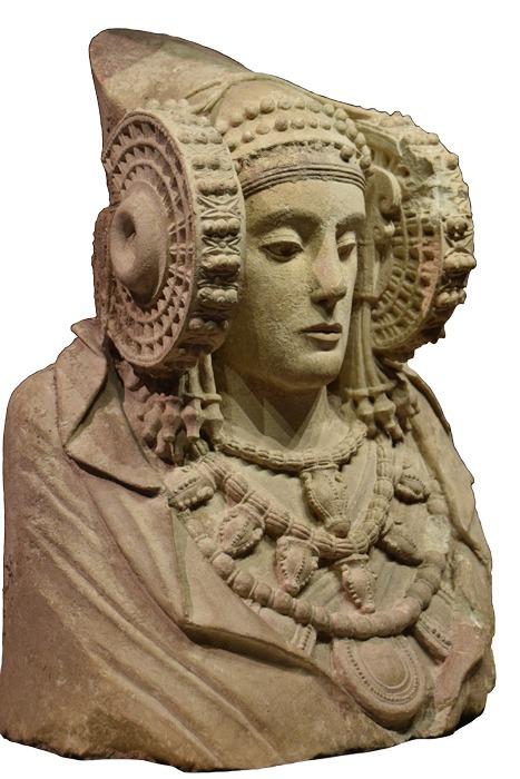 La dame d'Elche, fin Ve début IV av JC, Musée archéologique national de Madrid