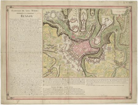 Luxembourg - 1737 - Gallica/BNF