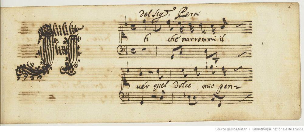 Recueil d'arias italiennes - Gallica