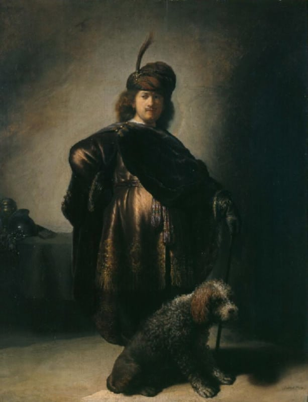 Autoportrait de Rembrandt en costume oriental, vers 1631-33, Inv PDUT925 - photo Petit Palais