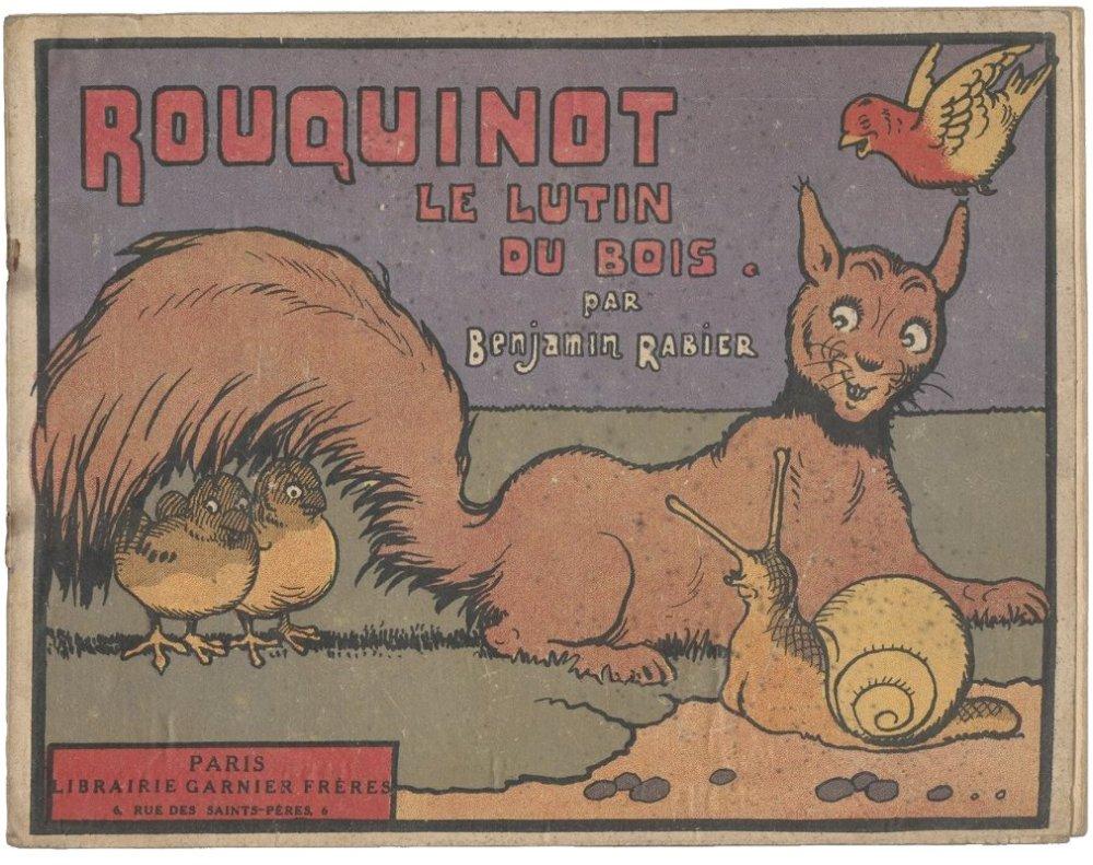 Rouquinot le lutin du bois / par Benjamin Rabier - 1929