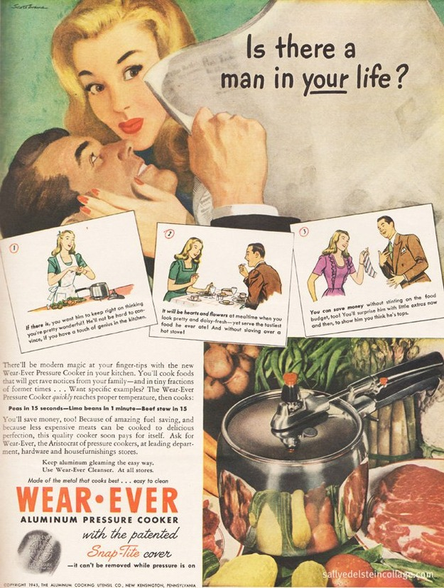Wear-Ever pressure cooker