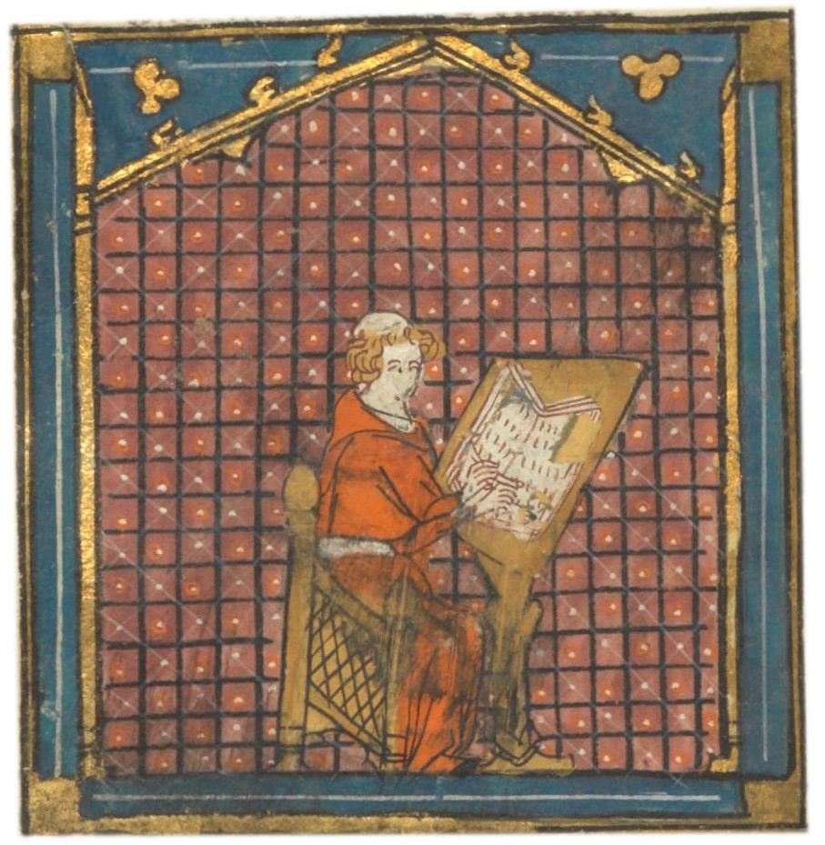 Enluminure pour le Roman de la rose, XIVème siècle, Gallica/BNF