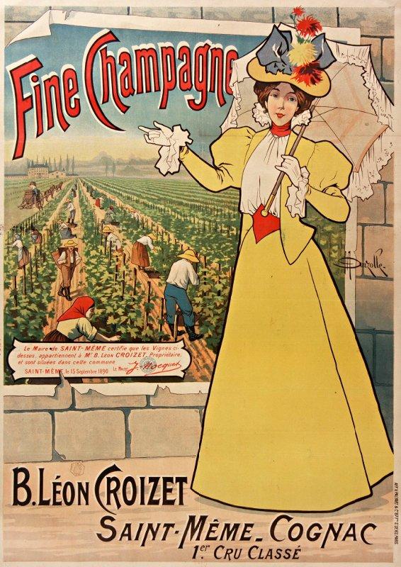 1900-1910 - Fine champagne, Gallica/BNF