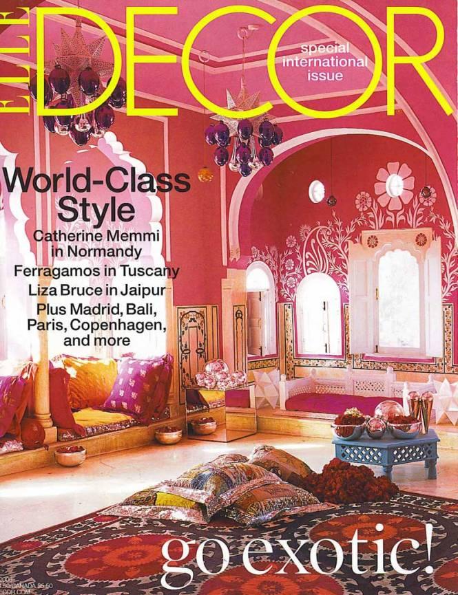 Top 5 Usa Interior Design Magazines Elle Decor