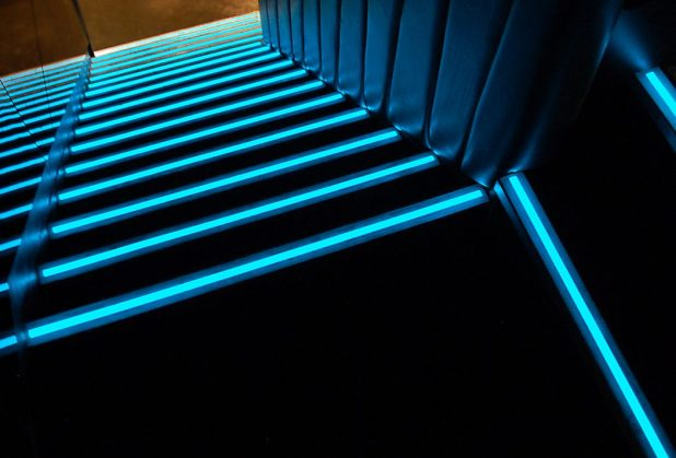 boujis-stairs-1 LEDs 10 uses in Architecture