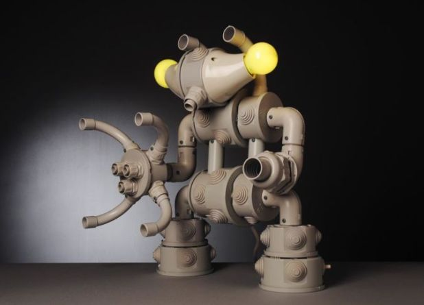 pobolamp_robot_styled_table_lamps 35 Amazing Robo Lamps for Your Children's Room