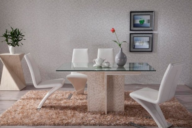 Marble-Stone-Furniture-D1101- What Are the Latest Home Decor Trends?