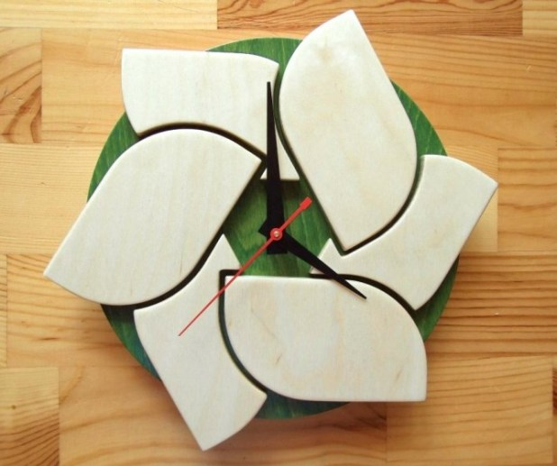 Modern-Wall-Clocks2 15 Amazing Wall Clocks Will Be Pieces Of Art In Your Home