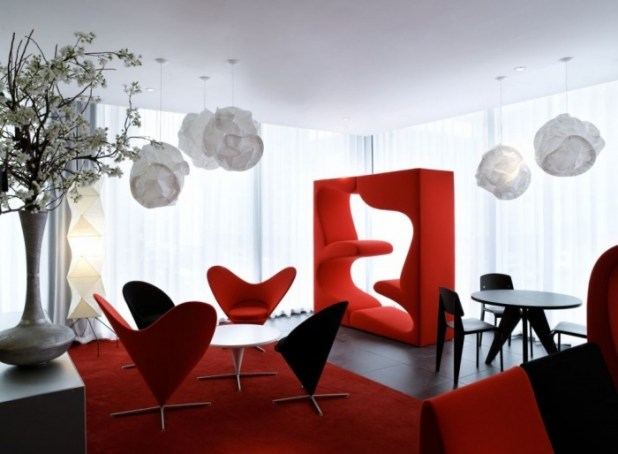 red-dining-room-moderndesign Discover the 10 Uncoming Furniture Trends