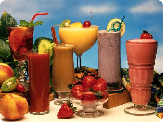 Smoothie Drink Is Very Healthy And Delicious With Low Calories