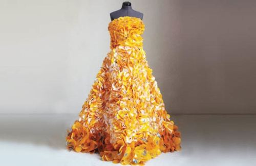 Recycled-gown 12 Impressive Art Works Made From Recycled Materials
