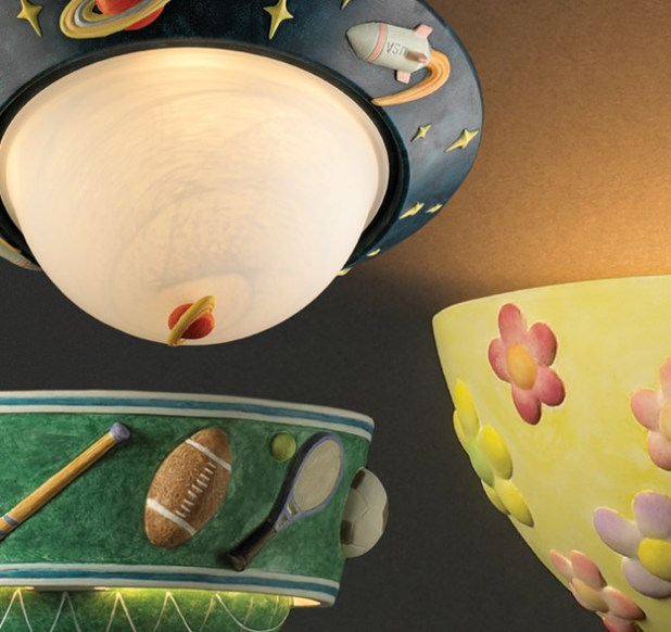 kids Fantastic Designs Of Lighting And Lamps For Kids' Rooms