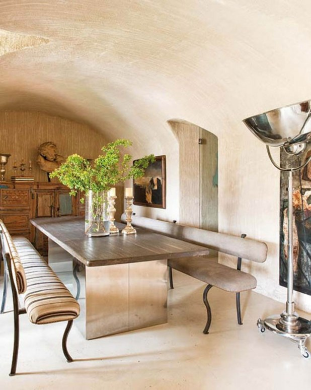 sweet-natural-interior-ideas-from-farmhouse-in-spain-dining-room 28 Elegant Designs For Your Dining Room