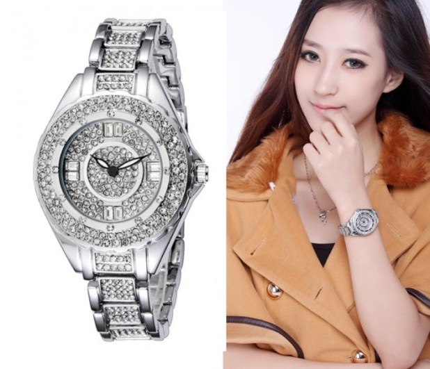 Free-Shipping-Full-Diamond-Watch-For-Women-Luxury-Ladies-Watch-Stainless-Steel-Wristwatch-WWL0014 24 Most Luxury Watches For Women And How To Choose The Perfect One?!