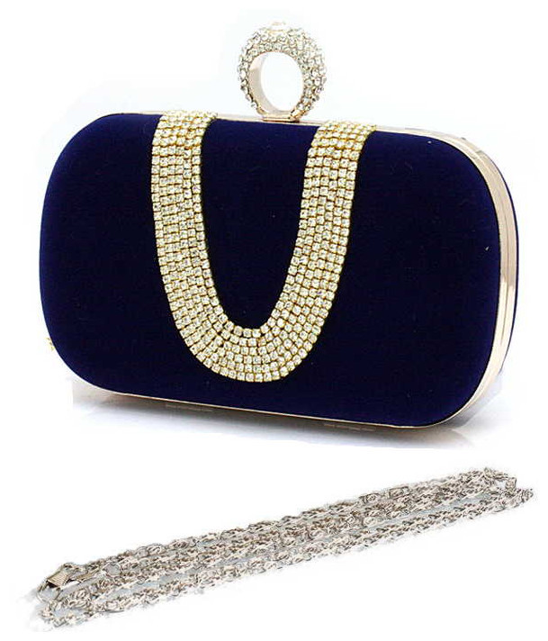 2013-Fashion-women-Clutch-Rings-Evening-Bag-crystal-dimond-Clutch-evening-bags-party-bag-with-shoulder 50 Fabulous & Elegant Evening Handbags and Purses