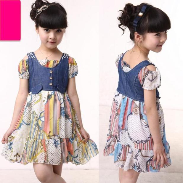 1-152 Kids Dresses for Summer 2014