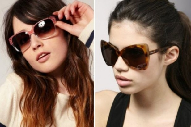 latest-trendy-fashionable-black-color-sunglasses-2013-2014 2014 Latest Hot Trends in Women's Sunglasses