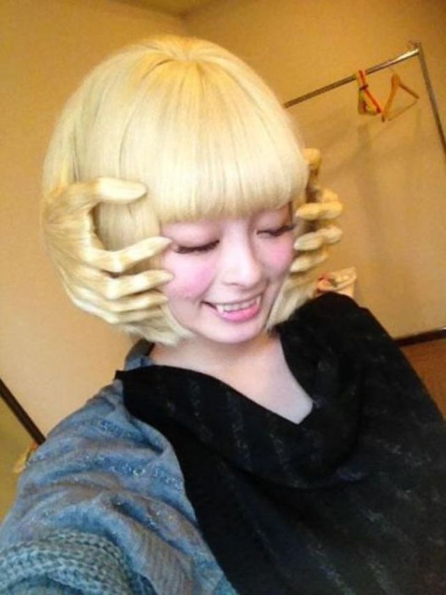 25 funny and crazy hairstyles to change yours   pouted