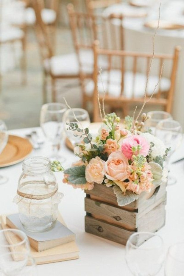 wood-create-wedding-centerpieces 25 Breathtaking Wedding Centerpieces in 2016