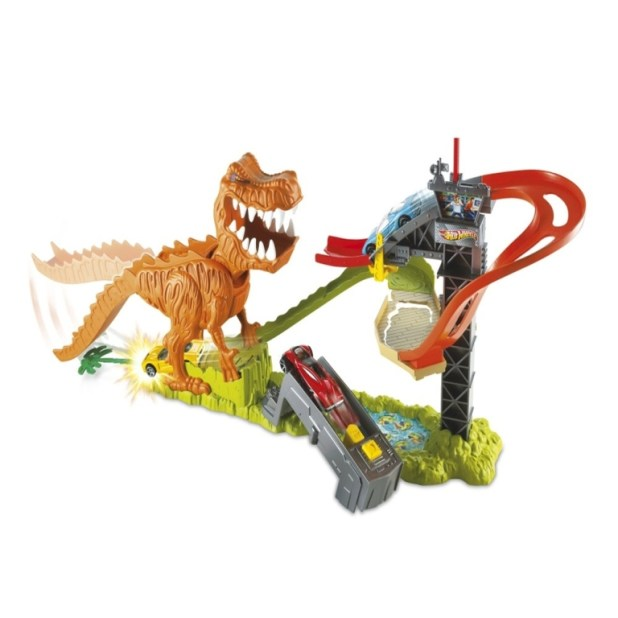 Hot-Wheels-T-Rex-Take-Down-Playset 2014 Hot Wheels Cars Commercial
