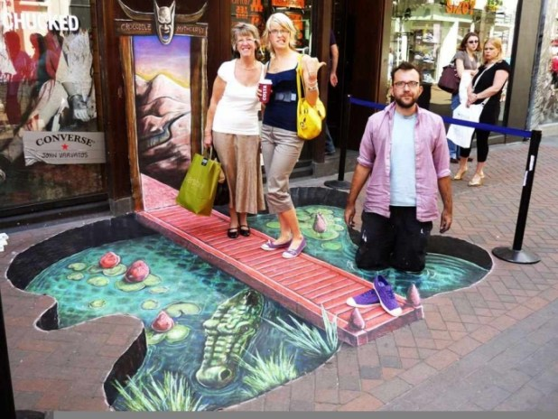 3d-street-art The Incredible Art of 3D Street Painting