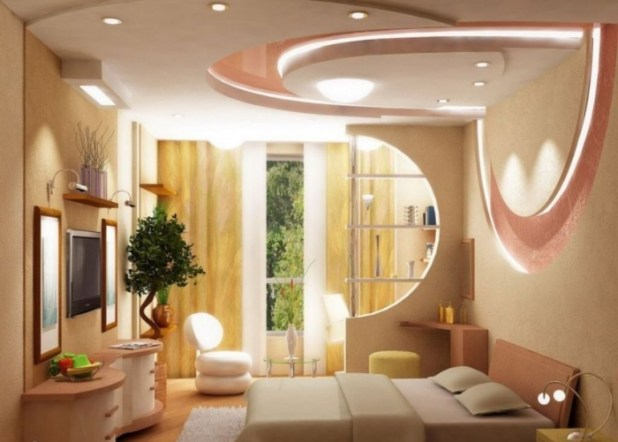 35-Dazzling-Catchy-Ceiling-Design-Ideas-2015-27 46 Dazzling & Catchy Ceiling Design Ideas 2015