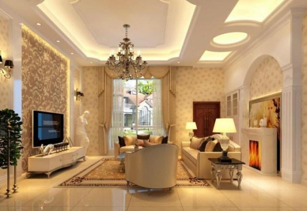35-Dazzling-Catchy-Ceiling-Design-Ideas-2015-40 46 Dazzling & Catchy Ceiling Design Ideas 2015