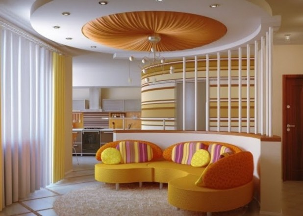 35-Dazzling-Catchy-Ceiling-Design-Ideas-2015-5 46 Dazzling & Catchy Ceiling Design Ideas 2015