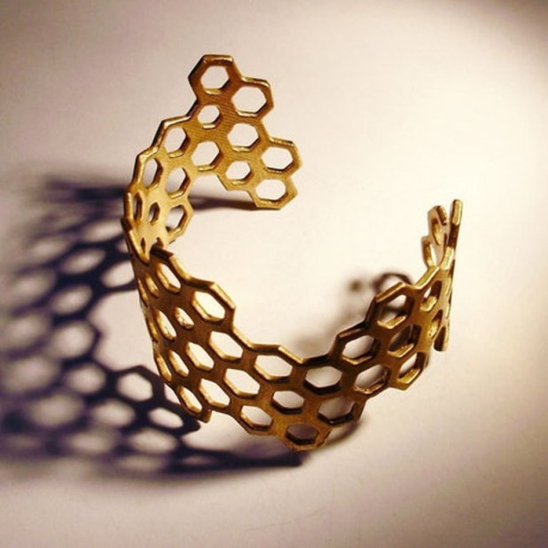 3D-printed-jewelry-designs-6 50 Coolest 3D Printed Jewelry Designs