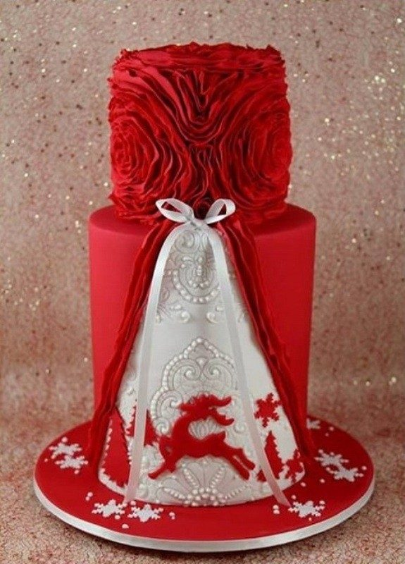 Christmas-Cake-Decoration-Ideas-2017-12 82 Mouthwatering Christmas Cake Decoration Ideas 2017