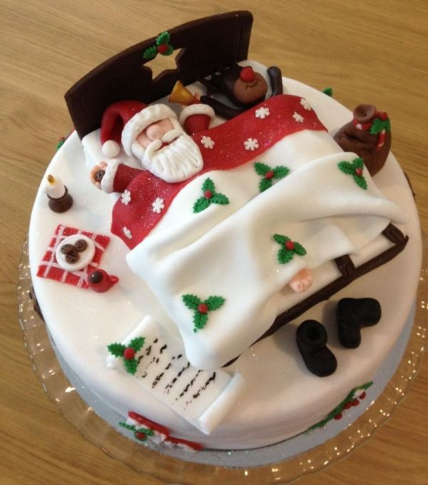 Christmas-Cake-Decoration-Ideas-2017-25 82 Mouthwatering Christmas Cake Decoration Ideas 2017