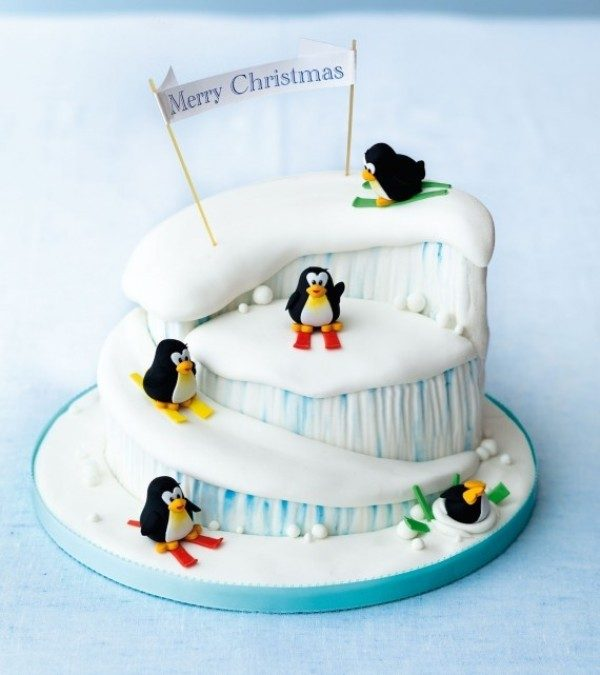 Christmas-Cake-Decoration-Ideas-2017-29 82 Mouthwatering Christmas Cake Decoration Ideas 2017