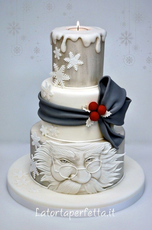 Christmas-Cake-Decoration-Ideas-2017-4 82 Mouthwatering Christmas Cake Decoration Ideas 2017