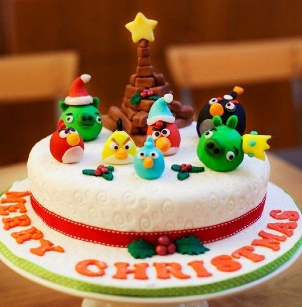 Christmas-Cake-Decoration-Ideas-2017-61 82 Mouthwatering Christmas Cake Decoration Ideas 2017