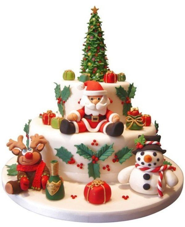 Christmas-Cake-Decoration-Ideas-2017-63 82 Mouthwatering Christmas Cake Decoration Ideas 2017