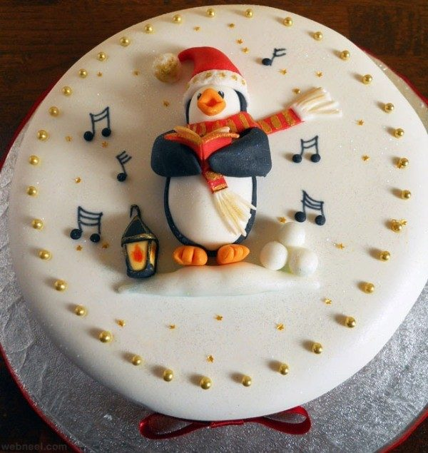 Christmas-Cake-Decoration-Ideas-2017-76 82 Mouthwatering Christmas Cake Decoration Ideas 2017