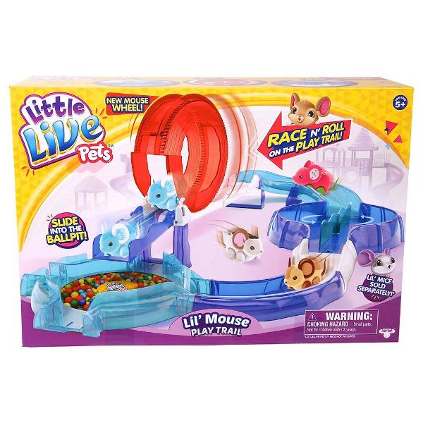 Little-Live-Pets-Mouse-Play-Trail 20 Must Have Christmas Toys for Children 2017