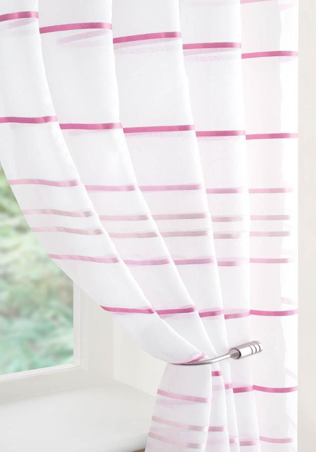 Ribbon-Glued-Curtain6 Easy And Creative Curtains Designs To DIY