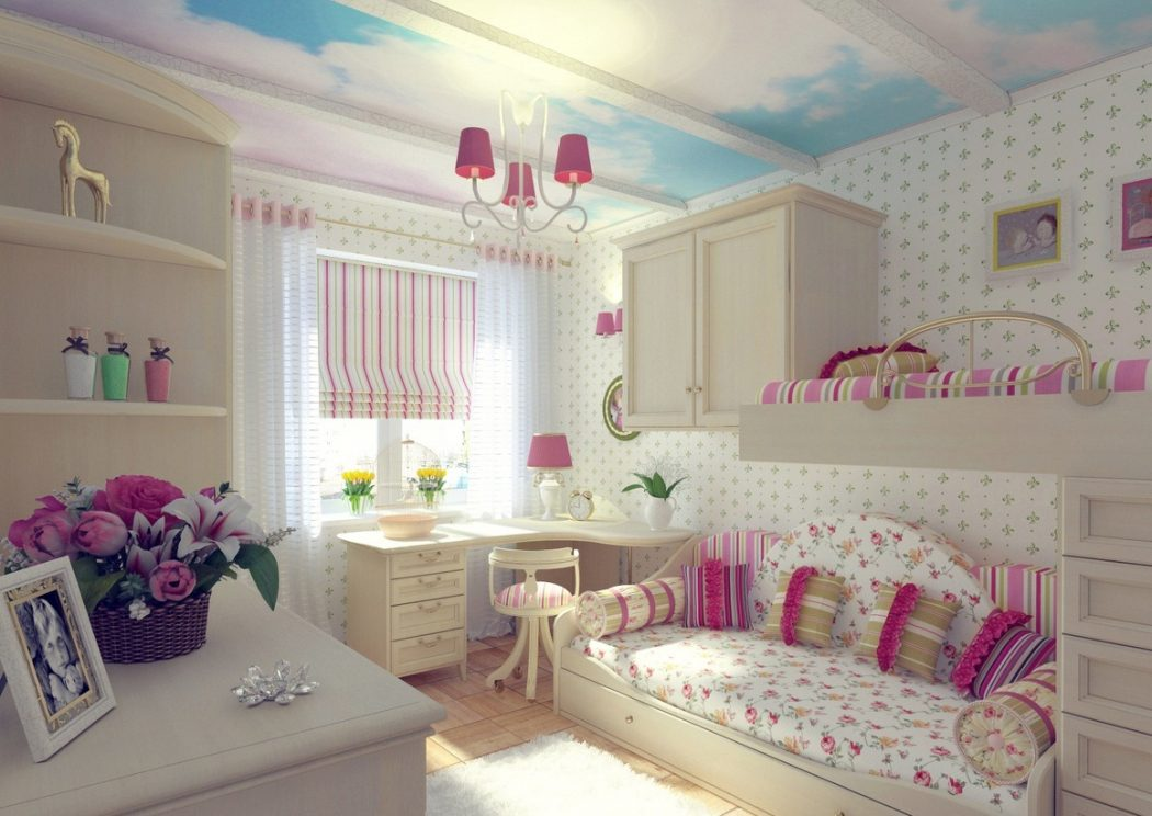 +25 Marvelous Kids' Rooms Ceiling Designs Ideas   Pouted on Teenager:_L_Breseofm= Bedroom Ideas  id=83253
