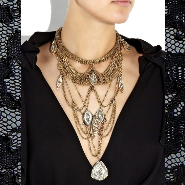multilayered-necklaces-4 23 Most Breathtaking Jewelry Trends in 2017