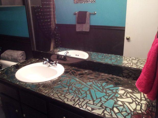 DIY-broken-mirror0-675x506 27+ Trendy Bathroom Mirror Designs of 2017