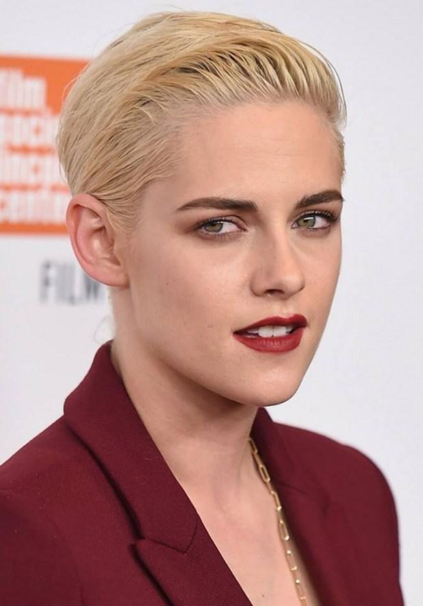 Kristen-Stewart2 15+ Fashionable Tremendous Celebrities' Hairstyles