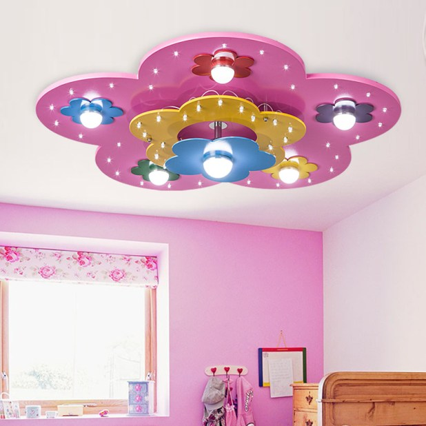 LED-shaped-light2-675x675 20+ Ceiling Lamp Ideas for Kids' Rooms in 2017